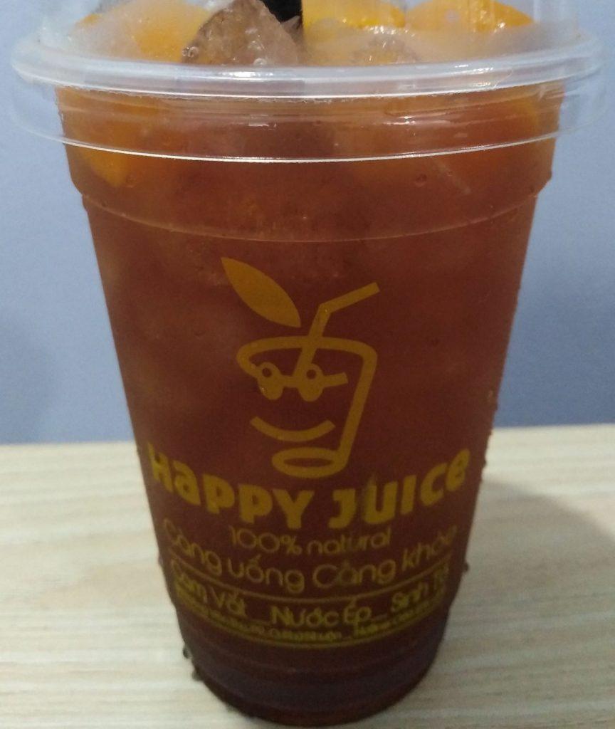 happy juice Trà đào